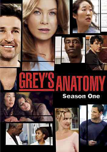 GREY'S ANATOMY:SEASON 1 BY GREY'S ANATOMY (DVD)